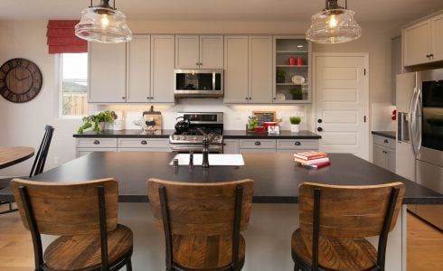 Gorgeous chef's kitchens are just one of the coveted features of these San Luis Obispo new homes from Williams Homes.