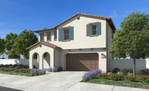 This Plan 2 residence showcases all the space and style of Rosewood's single-family new homes in Santa Paula.