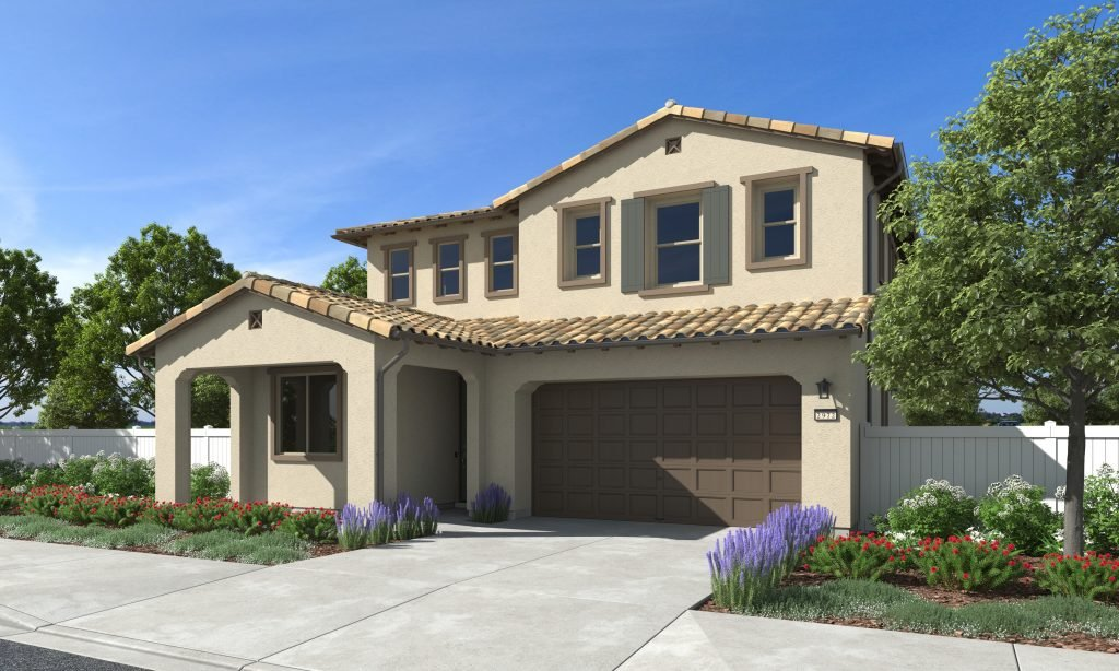 The Spanish architectural style is one of three distinctive exteriors found in this new Williams Homes community in Santa Paula.