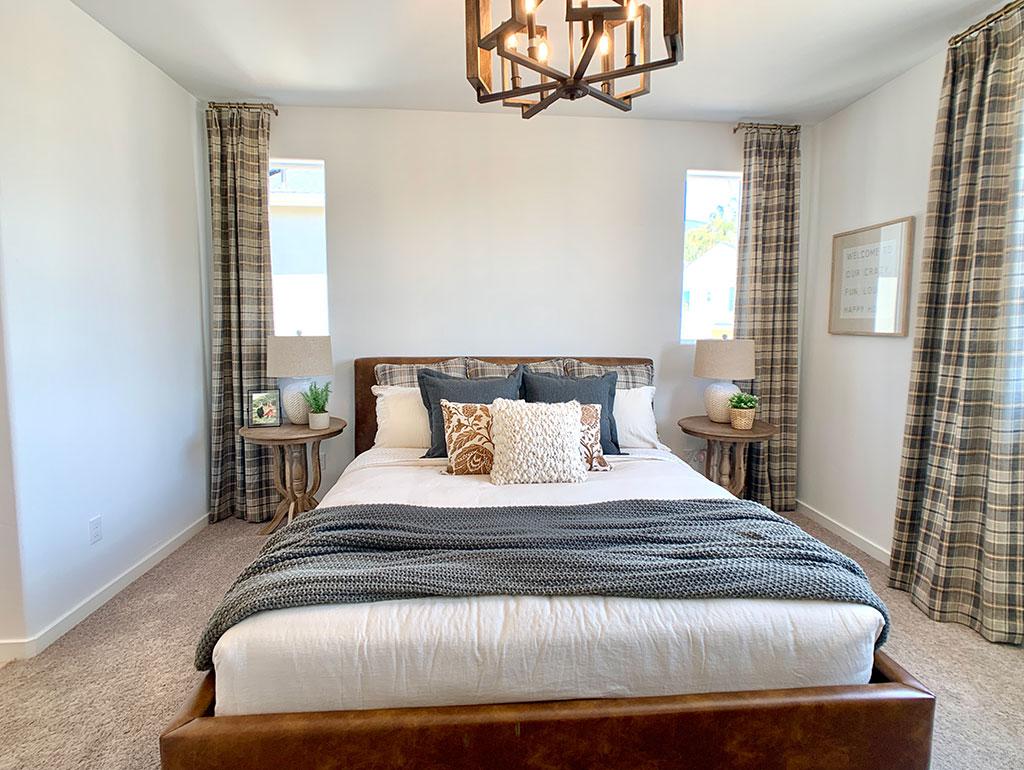 iron and oak williams homes righetti farmhouse primary bedroom 2