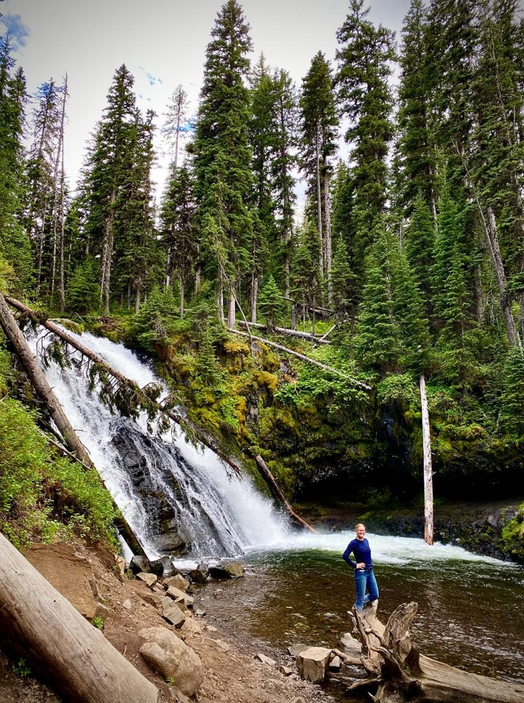 Grotto Falls in Bozeman, MT with Williams Homes
