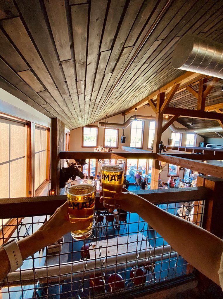 map brewing cheers photo from Williams Homes in Bozeman